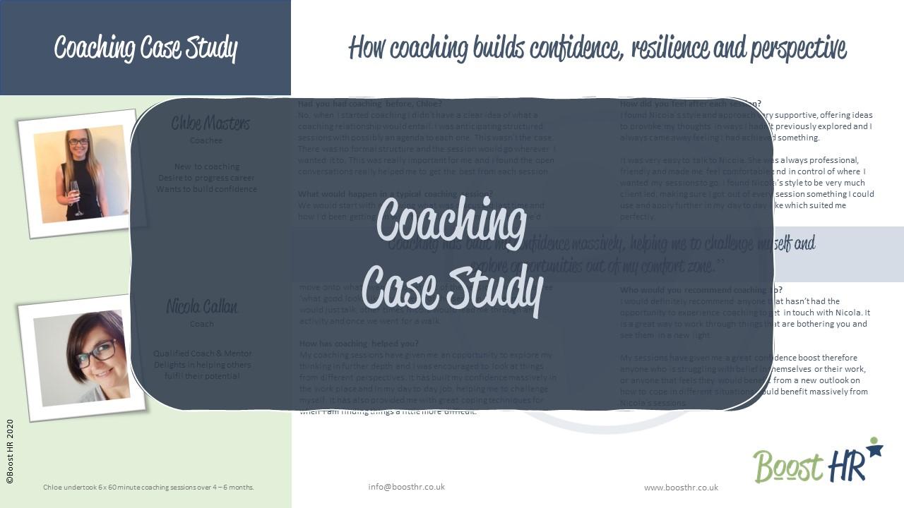Case Study - Coaching