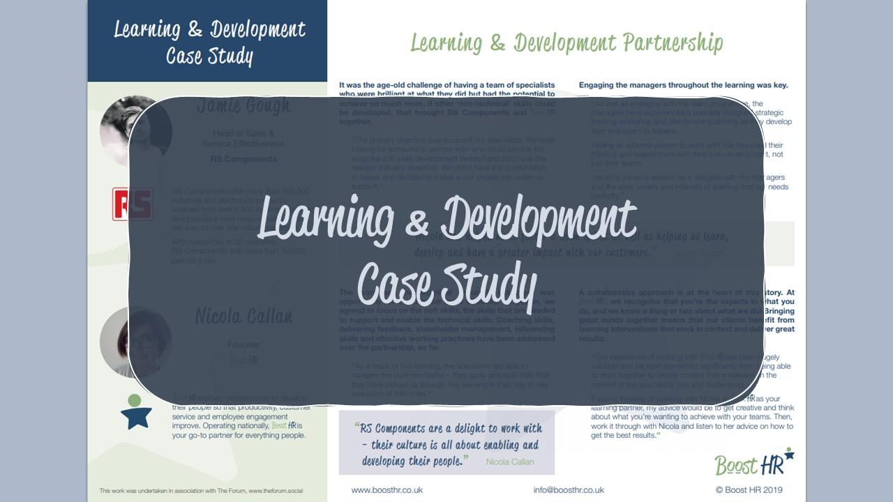 Case Study - L&D