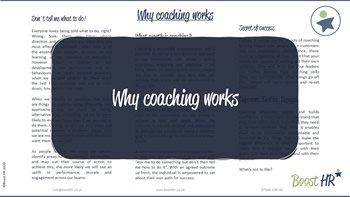 Why Coaching Works - Website