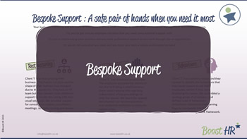HR Support - Bespoke Services